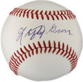 Autographs:Baseballs, 1970's Lefty Grove Signed Baseball....