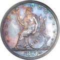 Patterns, 1873 T$1 Trade Dollar, Judd-1310, Pollock-1453, R.4, PR64 PCGS....