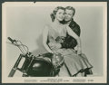 "Movie Posters:Drama, Anne Neyland and Steve Terrill in ""Motorcycle Gang"" (American International, 1957). Photos (8) (8"" X 10""). Drama.. ... (Total: 8 Items)"