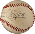 Autographs:Baseballs, 1940's Bill Klem Signed Baseball....