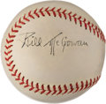 Autographs:Baseballs, 1940's Bill McGowan Signed Baseball....