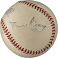 Autographs:Baseballs, 1940's Branch Rickey Signed Baseball....