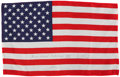 Transportation:Space Exploration, Gemini 7 Flown Large-Size American Flag Directly from the PersonalCollection of Mission Pilot James Lovell, Signed and Certif...