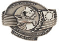 Transportation:Space Exploration, Space Shuttle Discovery (STS-51-D) Flown Silver RobbinsMedallion Directly from the Personal Collection of Mission...