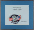 Transportation:Space Exploration, Space Shuttle Discovery (STS-51-D) Flown Mission Patch Wornby Mission Specialist S. David Griggs and Directly fro...