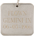 Transportation:Space Exploration, Gemini 9A Flown Charm Directly from the Personal Collection of Lola Morrow....