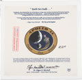 "Transportation:Space Exploration, Apollo 14 Flown Special Edition ""Earth Our Cradle"" Beta ClothMission Insignia Patch Originally from the Personal Collection o..."