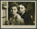 """Movie Posters:Hitchcock, Joan Fontaine in """"Rebecca"""" (Selznick Releasing, R-1948). Photos (4) (8"""" X 10""""). Hitchcock.. ... (Total: 4 Items)"""