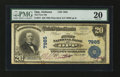 National Bank Notes:Alabama, Opp, AL - $20 1902 Plain Back Fr. 651 The First NB Ch. # 7985. ...