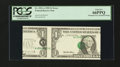 Error Notes:Major Errors, Fr. 1921-A $1 1995 Federal Reserve Note. PCGS Gem New 66PPQ.. ...