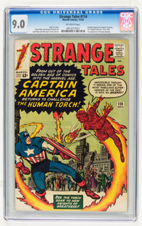 Strange Tales #114 (Marvel, 1963) CGC VF/NM 9.0 Off-white pages