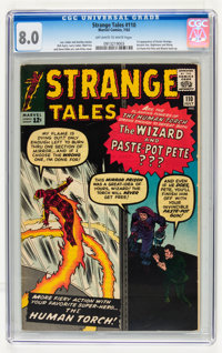 Strange Tales #110 (Marvel, 1963) CGC VF 8.0 Off-white to white pages