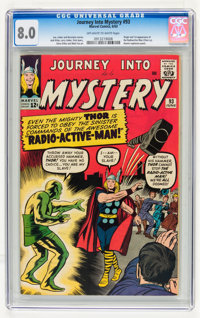 Journey Into Mystery #93 (Marvel, 1963) CGC VF 8.0 Off-white to white pages
