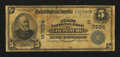 National Bank Notes:North Carolina, Louisburg, NC - $5 1902 Date Back Fr. 590 The First NB Ch. # (S)7554. ...