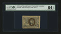 Fractional Currency:Second Issue, Fr. 1246 10¢ Second Issue PMG Choice Uncirculated 64 EPQ....