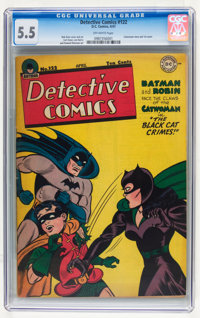 Detective Comics #122 (DC, 1947) CGC FN- 5.5 Off-white pages