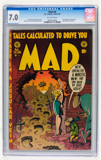 Mad #8 (EC, 1953) CGC FN/VF 7.0 Off-white pages