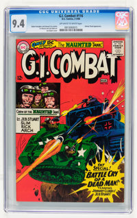 G.I. Combat #116 (DC, 1966) CGC NM 9.4 Off-white to white pages