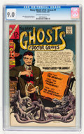 Silver Age (1956-1969):Horror, Many Ghosts of Dr. Graves #1 (Charlton, 1967) CGC VF/NM 9.0Off-white to white pages....