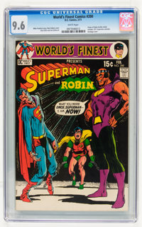World's Finest Comics #200 (DC, 1971) CGC NM+ 9.6 White pages