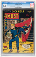 Golden Age (1938-1955):Adventure, 4Most V3#2 (Novelty Press, 1944) CGC VF+ 8.5 Cream to off-white pages....