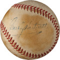 Autographs:Baseballs, 1940's Gabby Hartnett Single Signed Baseball....