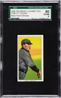 Baseball Cards:Singles (Pre-1930), 1909-11 T206 Cy Young, Bare Hand Shows SGC 80 EX/NM 6....