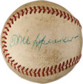 Autographs:Baseballs, 1940's Tris Speaker Signed Baseball....