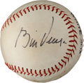 Autographs:Baseballs, 1970's Bill Veeck Single Signed Baseball....