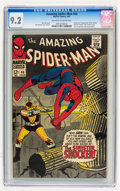 Silver Age (1956-1969):Superhero, The Amazing Spider-Man #46 (Marvel, 1967) CGC NM- 9.2 Off-white to white pages....