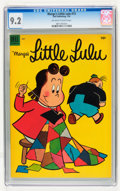 Golden Age (1938-1955):Humor, Marge's Little Lulu #73 (Dell, 1954) CGC NM- 9.2 Off-white to white pages....
