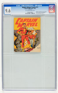 Mighty Midget Comics - Captain Marvel #11 (Fawcett, 1942) CGC NM+ 9.6 Off-white to white pages