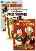 Golden Age (1938-1955):Humor, Uncle Scrooge Group (Dell, 1954-62) Condition: Average VG.... (Total: 21 Comic Books)