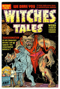 Witches Tales #14 (Harvey, 1952) Condition: VF