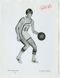 Basketball Collectibles:Photos, Early 1970's Pete Maravich Signed Photograph....