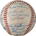 Autographs:Baseballs, 1960 Pittsburgh Pirates Team Signed Baseball....