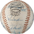 Autographs:Baseballs, 1976 Cincinnati Reds Team Signed Baseball....