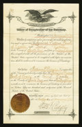 Nogales, Territory of Arizona - Bank Charter The Sandoval NB Ch. # 6591