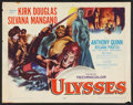 "Movie Posters:Adventure, Ulysses (Paramount, 1955). Half Sheet (22"" X 28""). Adventure.. ..."
