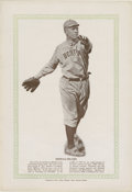Baseball Cards:Singles (1930-1939), Rare 1933 Blum's Publishing Tris Speaker. ...