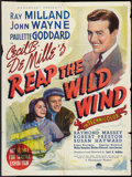 "Movie Posters:Adventure, Reap the Wild Wind (Paramount, 1942). Australian One Sheet (27"" X40""). Adventure.. ..."