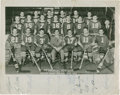 Hockey Collectibles:Photos, 1949-50 Pittsburgh Hornets Team Signed Photograph - Earliest KnownTim Horton Signed Photo....