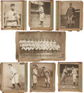Baseball Cards:Sets, 1909-13 M101-2 Sporting News Complete Set (100). ...