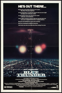 "Blue Thunder Lot (Columbia, 1983). One Sheets (2) (27"" X 41""). Action. ... (Total: 2 Items)"
