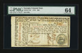Colonial Notes:Georgia, Georgia May 4, 1778 $20 PMG Choice Uncirculated 64....