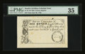 Colonial Notes:South Carolina, 19th Century Reprint South Carolina June 30, 1748 £1 PMG ChoiceVery Fine 35....