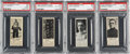 Hockey Cards:Lots, 1925 Dominion Chocolate PSA-Graded Quartet (4) - All Scarce &Low Pop. ...