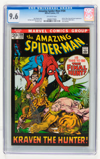 The Amazing Spider-Man #104 (Marvel, 1972) CGC NM+ 9.6 Off-white pages