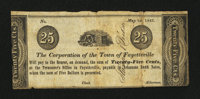 Fayetteville, AR-Corporation of the Town of Fayetteville 25¢ May 1, 1842 Rothert 192-1