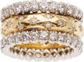 Estate Jewelry:Rings, Diamond, Platinum, Gold Ring. ...